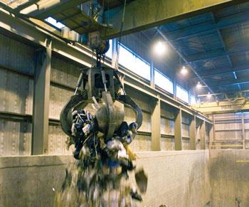 Landfill Crane