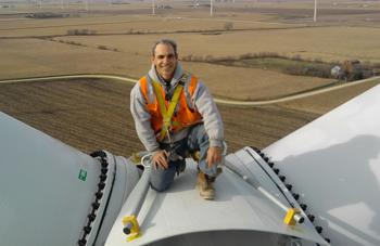 John hammack on wind turbine