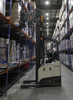 White wave foods forklift
